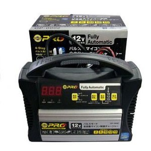 OMEGA PRO オメガ プロ 省エネ/ハイテク全自動バッテリー充電器 OP-0002|kb1tools-1