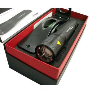 LED LENSER レッドレンザー P7R 充電式ハンディーライト 最大1000ルーメン OPT-9408R|kb1tools-1