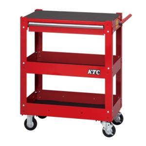 KTC ケーティーシー ツールワゴン 3段1引出し/ソリッドレッド SKX2613ST kb1tools-1