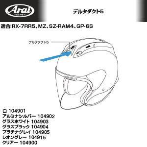 Arai/アライヘルメット RX-7 RR5用デルタダクト5