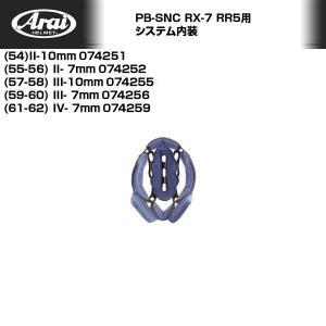Arai/アライヘルメット RX-7RR5用システム内装