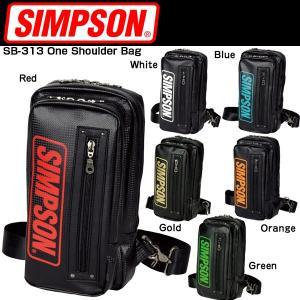 SIMPSON SB-313 One Shoulder Bag ワンショルダーバッグ シンプソン|kbc-mart