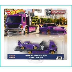 マテル ホットウィール チームトランスポート トランスポーター:AERO LIFT 積載車両:RWB...