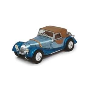 モデルカー 1/43 Cararama/カララマ モーガン プラス 8  ソフトトップ ブルー