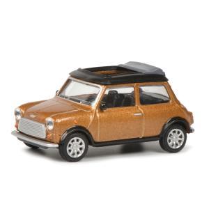 モデルカー 1/64 Schuco/シュコー ミニクーパー メタリックブラウン
