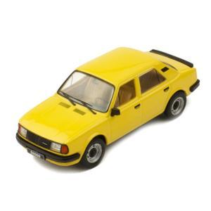 モデルカー 1/43 ixo/イクソ シュコダ 120L 1983 イエロー