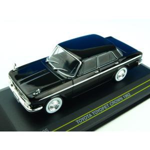 モデルカー 1/43 First43/ファースト43 トヨタ トヨペット クラウン 1962 ブラッ...