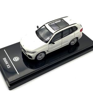 モデルカー 1/64 PARAGON/パラゴン BMW X5 G05 ホワイト LHD