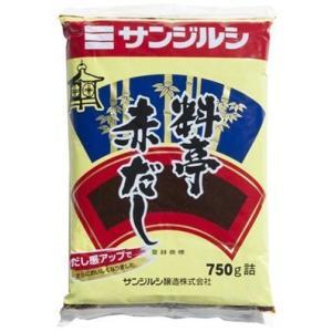 サンジルシ)料亭赤だし(袋) 750g|kbr-shop