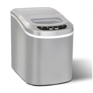 【高速製氷機【VS-ICE02】】製氷機 家庭用 製氷器 氷 (シルバー)|kbr-shop