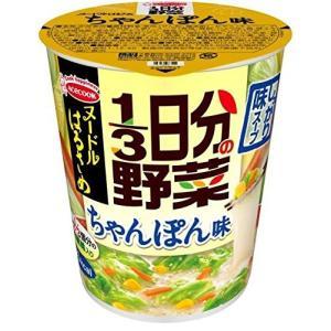 エースコック ヌードルはるさめ 1/3日分の野菜 ちゃんぽん味 43g×6個|kbr-shop