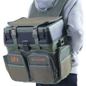 【F-grip】 タクティカルバッグ 大容量 クーラーボックス 多機能 リュック フィッシング (グリーン)|kbr-shop