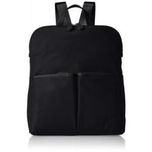 [キタムラ] リュック 前面背面両方にファスナーポケット付き Y-1005 旅行 トラベル 散歩 ブラック [黒] 15151|kbr-shop