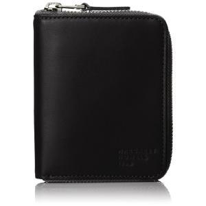 [マーガレット・ハウエル アイデア] 折財布 MHMW3HS3 ブラック|kbr-shop
