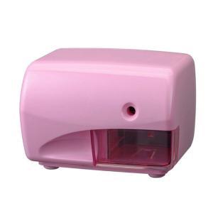 デビカ 電動 鉛筆削り ピンク S-02 043726|kbr-shop