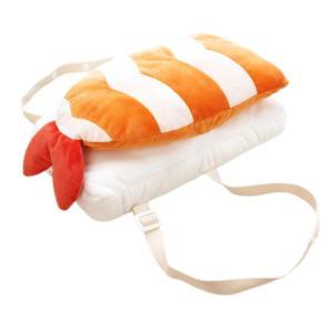 頭ごっつん防止リュック セーフティクッション お寿司 えび|kbr-shop