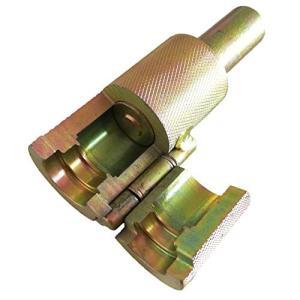HWT フレキ管 ツバ出し工具 13mm 径 フレキ 対応 防滑加工 タイプ ハンマータイプ 長尺 水道 パイプ 修理 日本語説明書 (16mmΦ防滑加工タイプ) kbr-shop