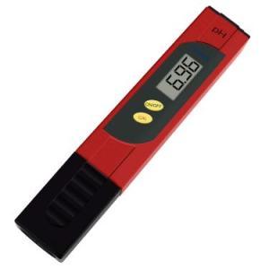 HiKiNSデジタルPH計 pHメーター ペーハー測定器 pH 0-14測定 0.01 phの高精度 自動校正 水族館 水耕栽培 水質検査 プールなどに適用されます- Red kbr-shop