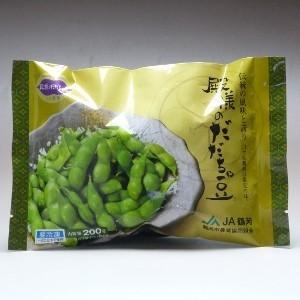 山形県鶴岡市限定の味  収穫して間もないだだちゃ豆を急速冷凍施設にて一気に急速冷凍! 旬のだだちゃ豆...