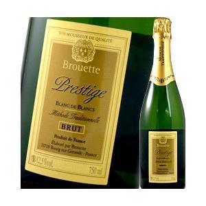 スパークリングワイン ブルエット・プレステージ ブラン・ド・ブラン ブリュット フランス  750ml 辛口 wine sparkling|kbwine