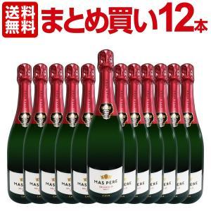 スパークリングワイン まとめ買い カバ・マス・ペレ・セレクシオ・ブリュット 12本 wine|kbwine