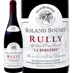 """Domaine Roland Sounit, Rully Rouge """"La Bergerie"""" 2..."""
