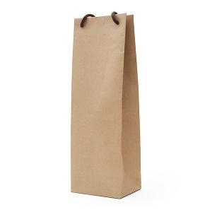 手提げ袋(1本用)【茶】【1本様ギフト箱が入ります】 wine|kbwine
