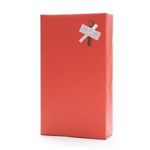 2本用ギフト用包装ギフト箱・のし可・包装紙赤 wine|kbwine