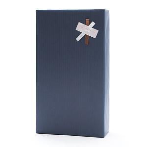 ギフトボックス(2本用)包装紙【紺】・のし可 wine|kbwine
