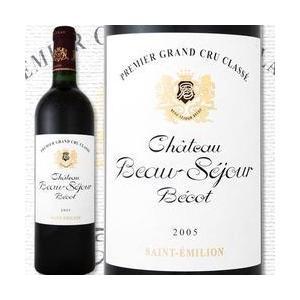 赤ワイン フランス・ボルドー シャトー・ボー・セジュール・ベコ 2005 フランス 750ml フルボディ サンテミリオン wine|kbwine