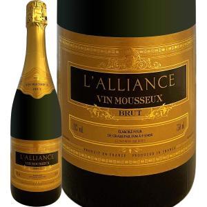 スパークリングワイン ラリアンス・ブリュットフランス750ml wine sparkling|kbwine