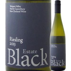 白ワイン ニュージーランド ブラック・エステート リースリング 2013 ニュージーランド  750ml ミディアムボディ 辛口 wine kbwine