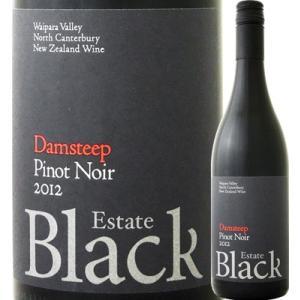 赤ワイン ニュージーランド ブラック・エステート ダムスティープ・ピノ・ノワール 2012 ニュージーランド  750ml ミディアムボディ 辛口 wine kbwine