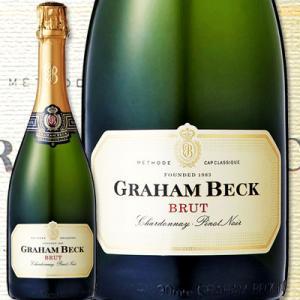スパークリングワイン グラハム・ベック・ブリュット・NV 南アフリカ共和国  750ml 辛口 Graham Beck wine sparkling 京橋ワイン 赤 白 セット wine