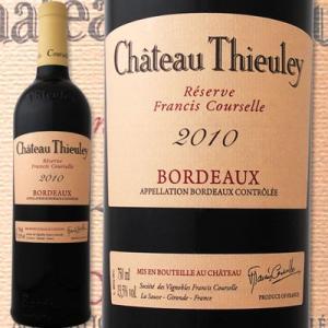 赤ワイン フランス・ボルドー シャトー・テューレイ・ルージュ・レゼルヴ・フランシス・クーセル 2010フランス ボルドー750ml2010年 wine|kbwine
