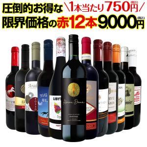 赤ワイン セット フランス スペイン 12本 wine set 750ml 第10弾 1本あたり64...