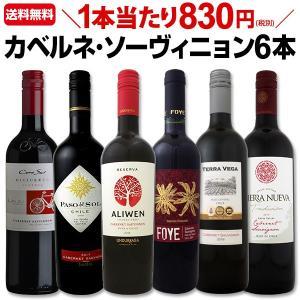 赤ワインセット チリ wine set  人気のカベルネ ソー ィニョン6本セット set Chil...