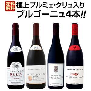 ブルゴーニュ赤ワイン4本セット wine set bourgogne 極 プルミェ クリュ 一級畑 ...