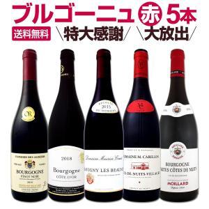 特大感謝のブルゴーニュ赤ワイン大放出5本セット wine set bourgogne