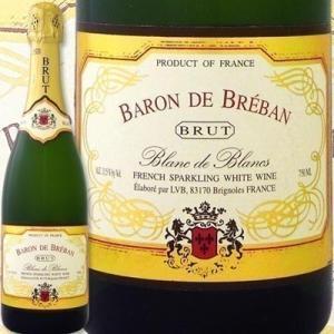 スパークリングワイン バロン・ド・ブルバン・ブリュット・ブラン・ド・ブランフランス750ml辛口 w...