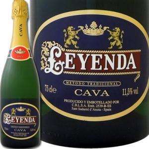 スパークリングワイン カヴァ・レジェンダ・ドライ wine sparkling|kbwine
