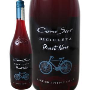 チリ赤ワイン 750ml wine ピノノワール コノスル ピノ ノワール ビシクレタ クールレッド...