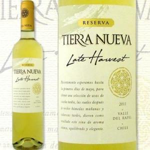 白ワイン ティエラ・ヌエヴァ・レート・ハーヴェスト 2011チリ500ml甘口ミディアムボディデザート