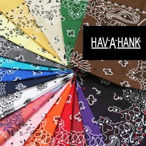 HAV-A-HANK(ハバハンク)バンダナ【ペイズリー柄】 ●バンダナの代名詞、アメリカ製のハバハン...