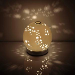 イシグロ 20323 セラミックアロマライト 星【お取り寄せ製品】【ムードランプ・照明・ライト・アロマライト】|kcm-onlineshop