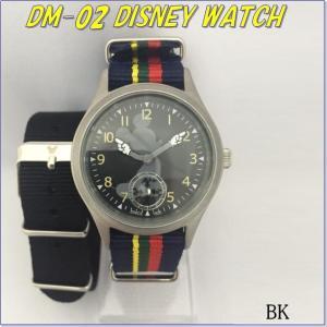 DM-02 ディズニーウォッチ ブラック 替えベルト付【腕時計、ミッキーマウス】【送料無料(北海道・沖縄・離島を除く)】【メーカー直送】【代引不可】 kcm-onlineshop