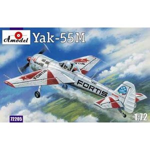 1/72 Yak-55M「フォルティス」アクロチーム/Aモデル72205/ kcraft