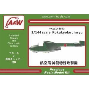 1/144  美津濃 航空局「神龍」特殊攻撃機/A&Wモデルス144043/
