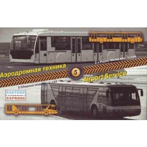 1/144 空港 サービスセット#5( エプロンバス)/イースタンエキスプレス14507/ kcraft