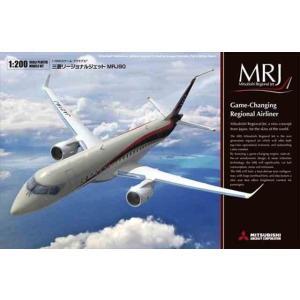1/200 三菱リージョナルジェット MRJ90/ファインモールド15504/ kcraft